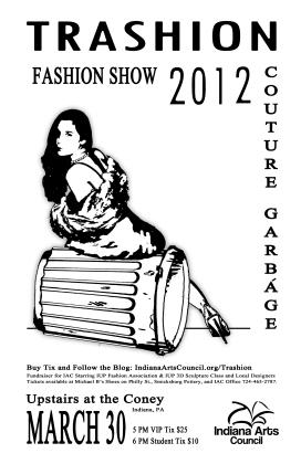 Fundraiser poster, 2012